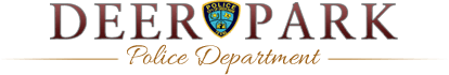 Deer Park Texas Police department Home page