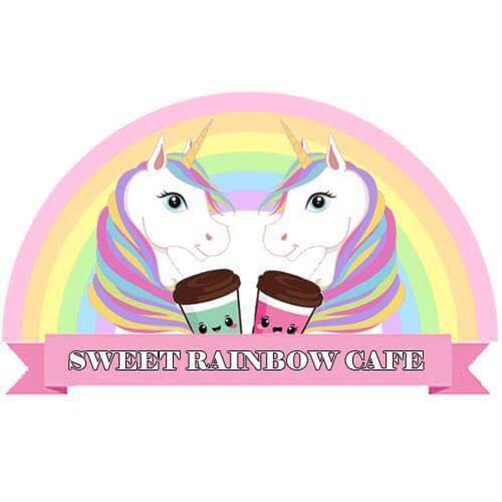 Sweet Rainbow Cafe Logo